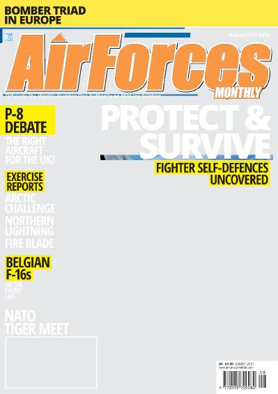 Air Forces Monthly  August (2017)