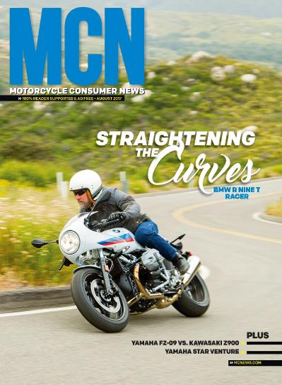 Motorcycle Consumer News  August (2017)