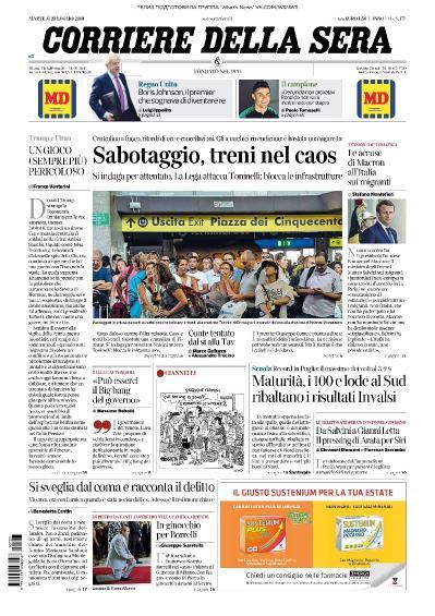 Corriere della Sera   23 07 (2019)
