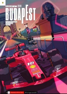Формула 1. Сезон 2019. Этап 12. Гран-при Венгрии. Гонка [04.08] (2019) HDTVRip 720p