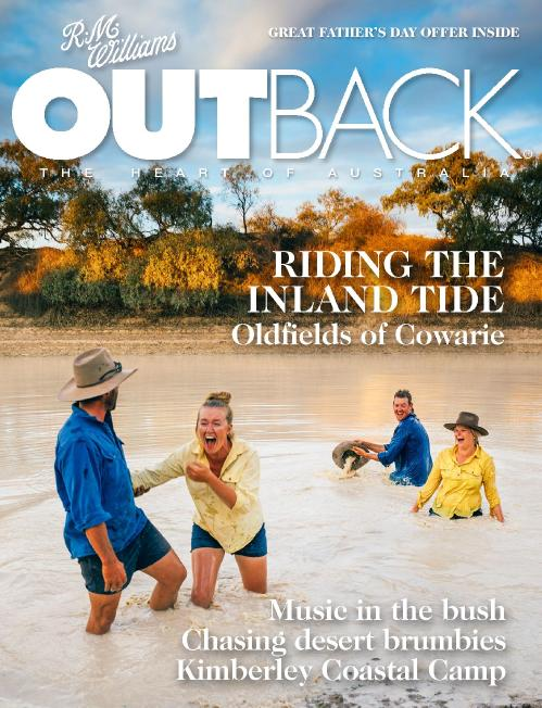 Outback Magazine  August (2018)