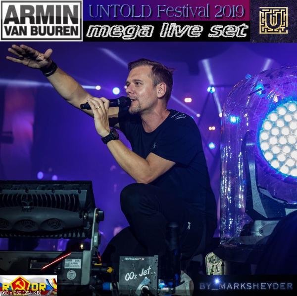 Armin van Buuren -  UNTOLD Festival 2019 [Mega live set] (2019) WEBRip 1080p скачать торрентом