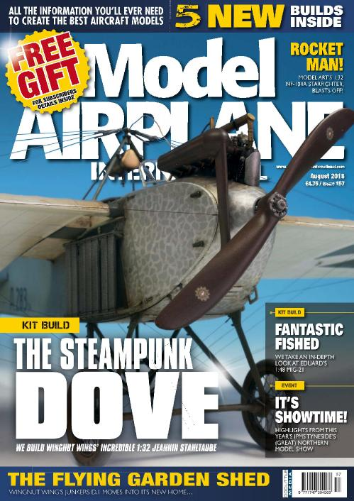 Model Airplane International  August (2018)