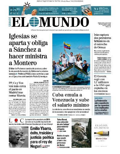El Mundo   20 07 (2019)