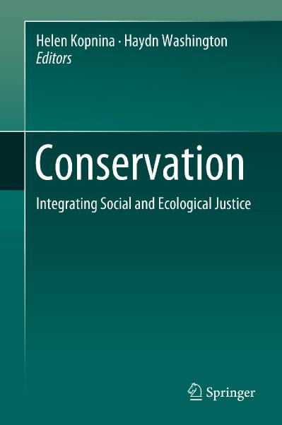 Conservation Integrating Social and Ecological Justice