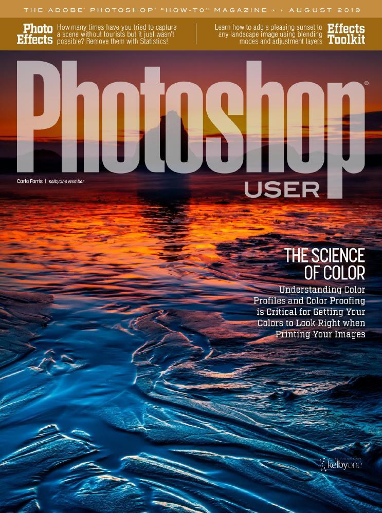 Photoshop User [True PDF] - August 2019