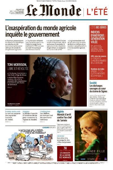 Le Monde   08 08 (2019)