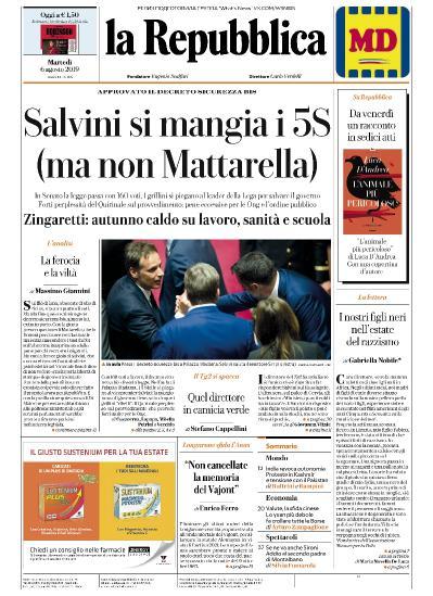 la Repubblica   06 08 (2019)