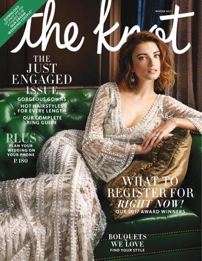 The Knot Weddings Magazine  December (2017)