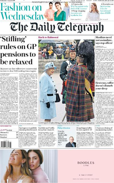The Daily Telegraph   07 08 (2019)