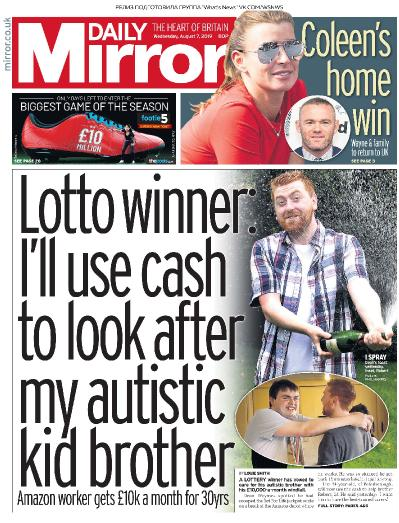 Daily Mirror   07 08 (2019)