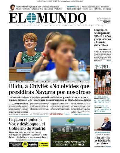 El Mundo   02 08 (2019)