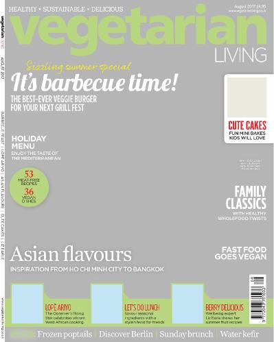 Vegetarian Living  August (2017)