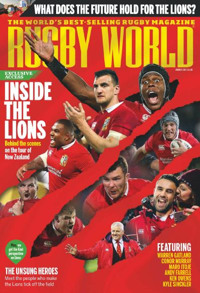 Rugby World UK  August (2017)