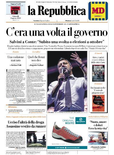 La Repubblica   08 08 (2019)
