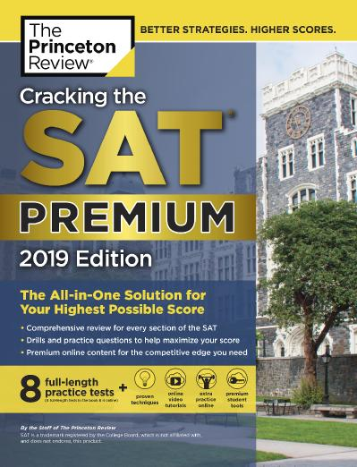 ing the SAT Premium Edition with 8 Practice Tests The All in One Solution for Your...