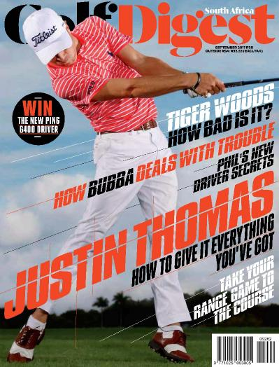 Golf Digest South Africa  September (2017)