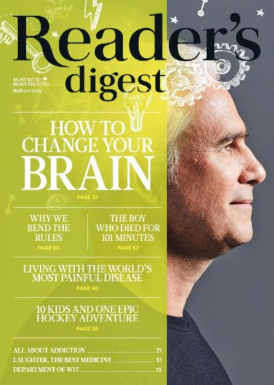 Reader s Digest Canada   March (2016)