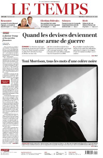 Temps   2019 08 07