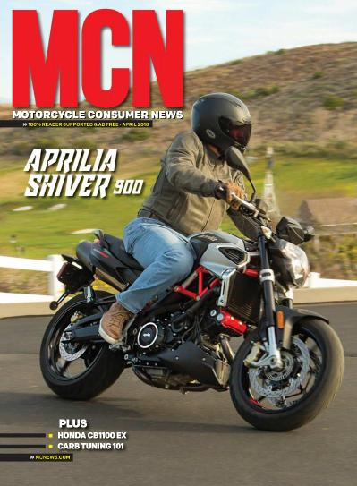 Motorcycle Consumer News   April (2018)