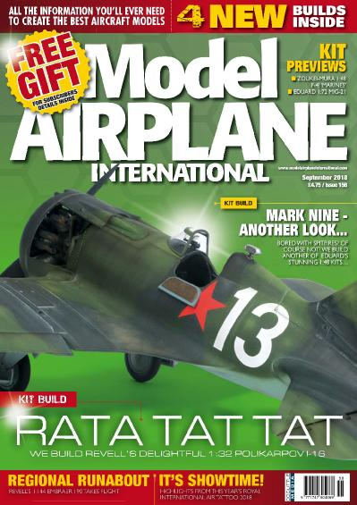 Model Airplane International  September (2018)