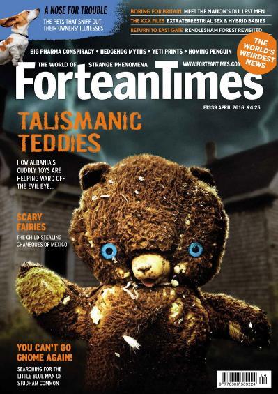 Fortean Times   April (2016)