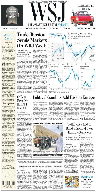 The Wall Street Journal   10 08 2019   11 08 (2019)