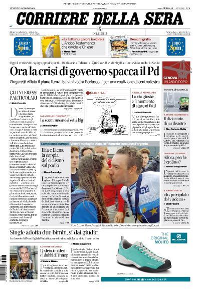 Corriere della Sera   12 08 (2019)