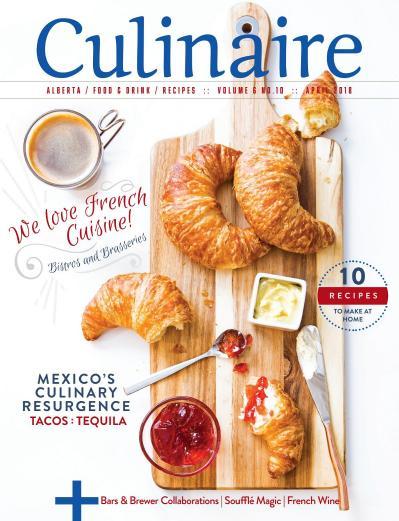 Culinaire Magazine   April (2018)
