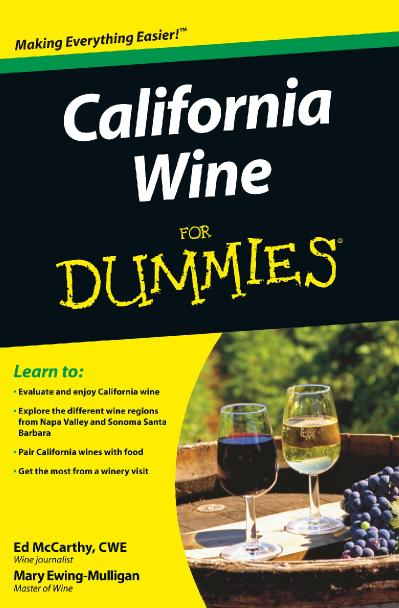 California Wine for Dummies ISBN   047037(6074)
