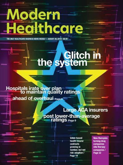 Modern Healthcare  August 26 (2019)