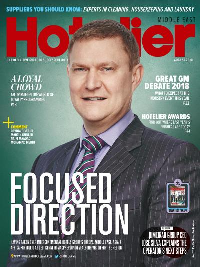 Hotelier Middle East  August (2018)