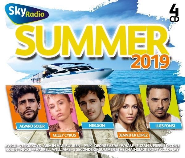 Sky Radio Summer  4CD (2019)