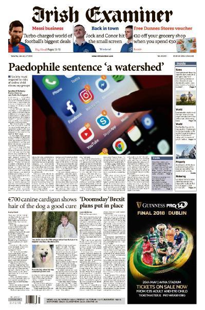 Irish Examiner  January 27 (2018)