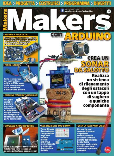 Makers Mag N 1  Agosto Settembre (2017)