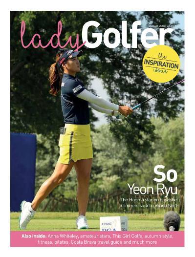 Lady Golfer  August (2018)