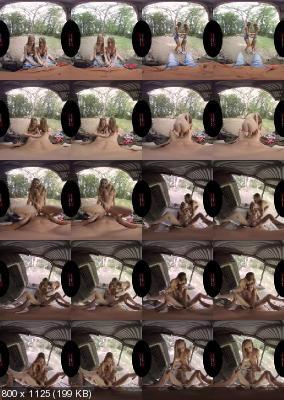 VirtualRealPorn: Angel Emily & Tiffany Tatum (Stay on the Porch / 02.09.2019) [GearVR | SideBySide] [2160p]