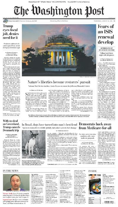 The Washington Post - 21 08 (2019)