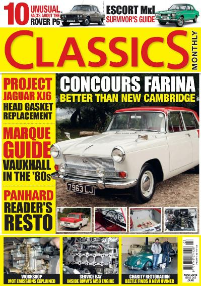 Classics Monthly  March (2018)