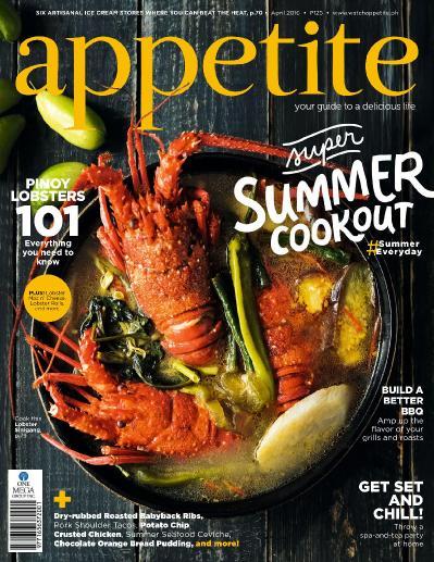 appetite - April (2016)