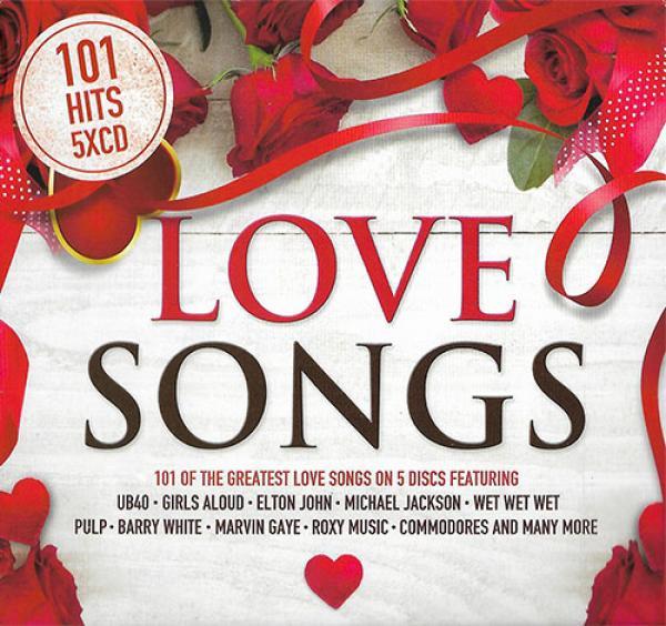 101 Hits   Love Songs   All Original Tracks & Artists   VA   5CDs