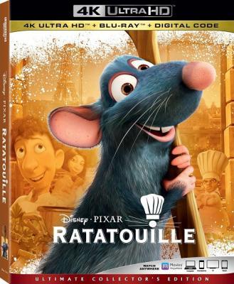 Рататуй / Ratatouille (2007) BDRemux 2160p | HDR | Лицензия