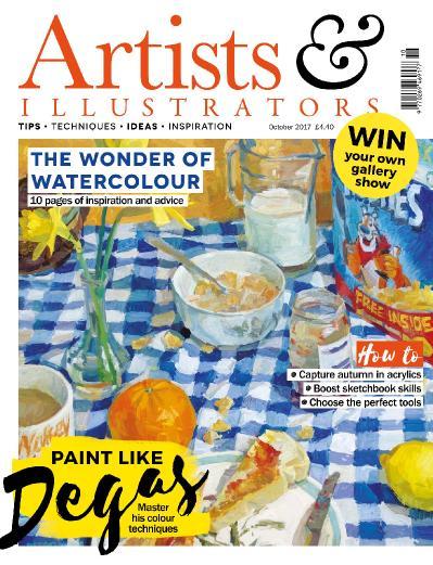 Artists & & Illustrators  October (2017)