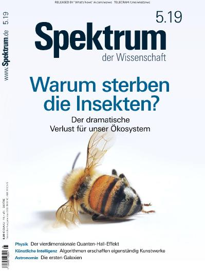 Spektrum der Wissenschaft - 05 (2019)
