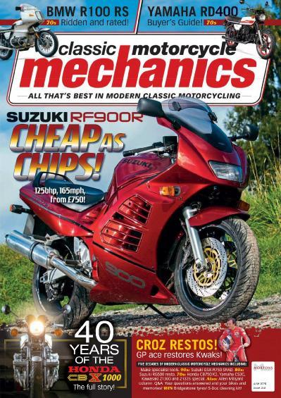 Classic Motorcycle Mechanics - June (2018)