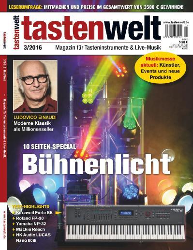 Tastenwelt  Nr 3 (2016)