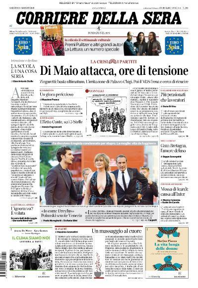 Corriere della Sera - 31 08 (2019)