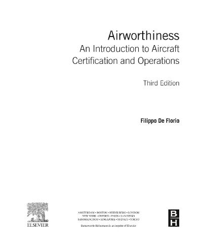 Airworthiness An Introduction to Aircraft Certification and Operations-Butterworth...