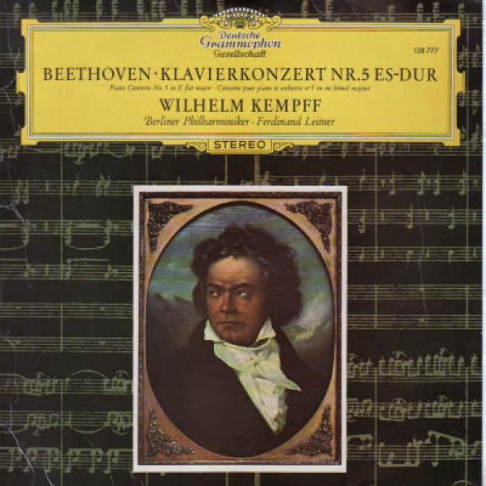 Beethoven - Klavierkonzert Nr  5 Es dur   Berliner Philharmoniker · Leitner,  Kemp...
