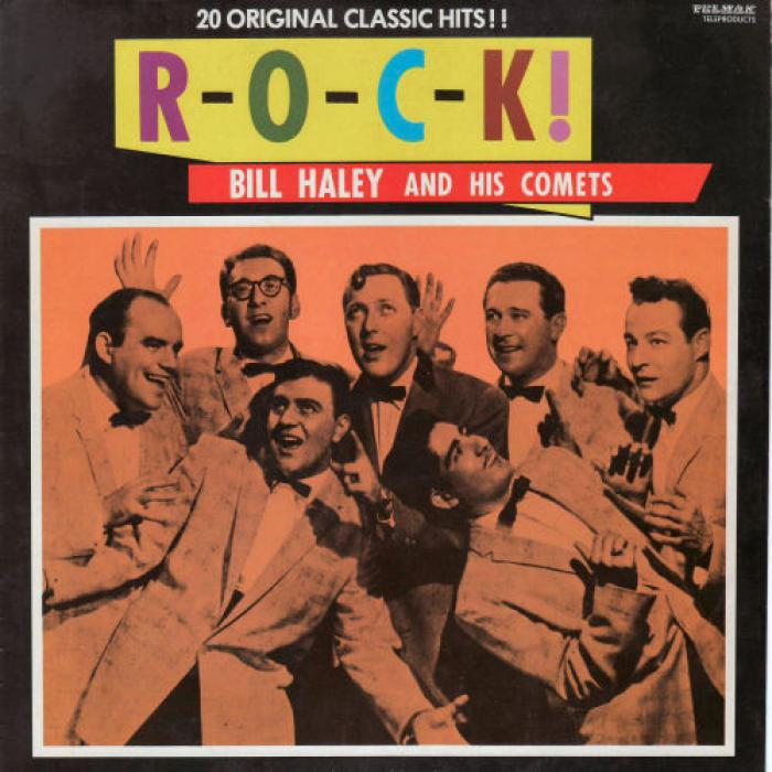 Bill Haley And His Comets R O C K   20 Original Classic Hits   Aussie Release    1981